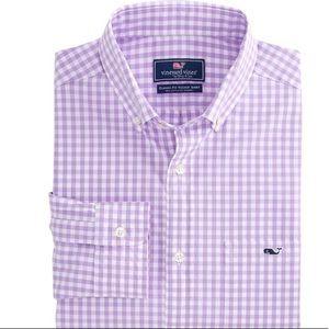Vineyard Vines Gingham Classic Fit Tucker Shirt